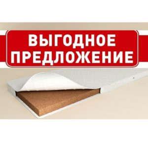 Кокосовый матрас 120х200